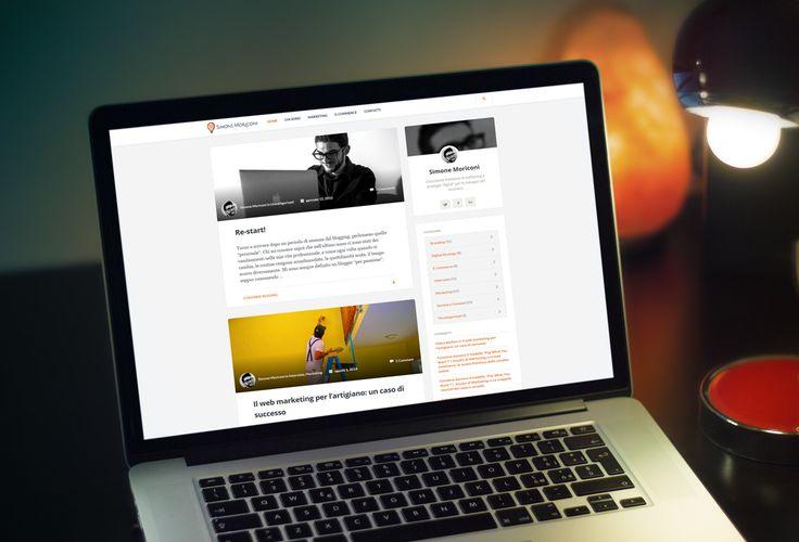 """Il sito web di Simone Moriconi, consulente freelance di marketing e strategie """"digital"""" per lo sviluppo del business."""