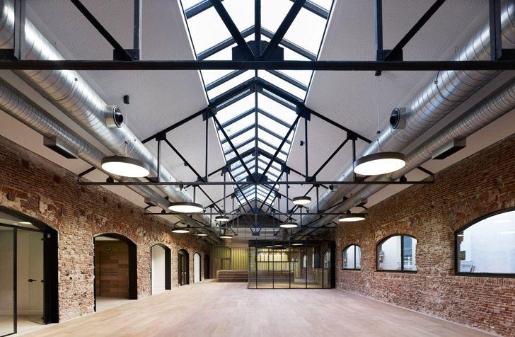 MVN Arquitectos Renovates Industrial Warehouse Into Gorgeous G...