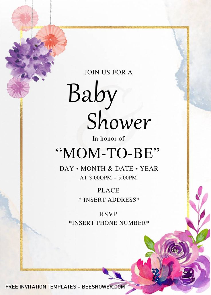 Even my fiancé is a huge fan :d! Golden Frame Baby Shower Invitation Templates Editable With Microsoft Word In 2021 Invitation Template Baby Shower Invitation Templates Free Invitation Templates