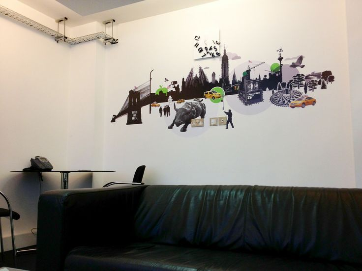 Were a wall graphics company in the uk and provide unique decals and wall