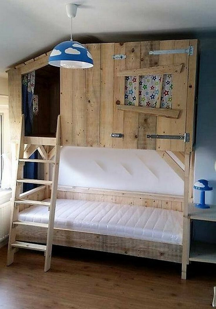 Best 25+ Double bunk beds ideas on Pinterest | Bunk bed, Built in bunks and  Bunk beds built in