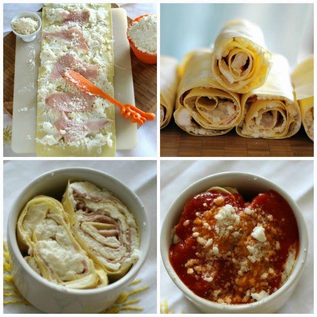 Chiarapassion: Rondelle di pasta con ricotta, parmigiano e prosciutto
