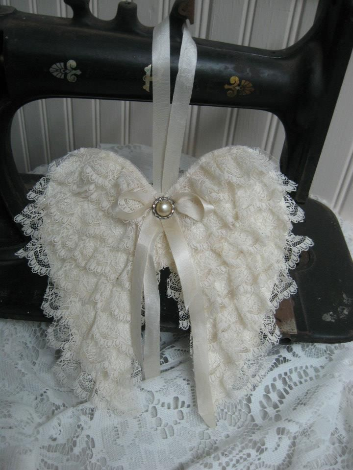~ The Feathered Nest ~: angel wings tutorial
