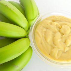 Receita Light da Semana: biomassa de banana verde