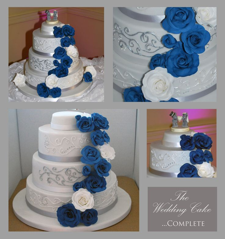 making a sponge wedding cake in advance 1000 images about navy white and silver wedding cake on 17036