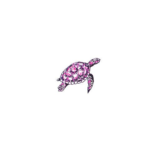 sea turtle tattoo...I like this one but in a green jade color.