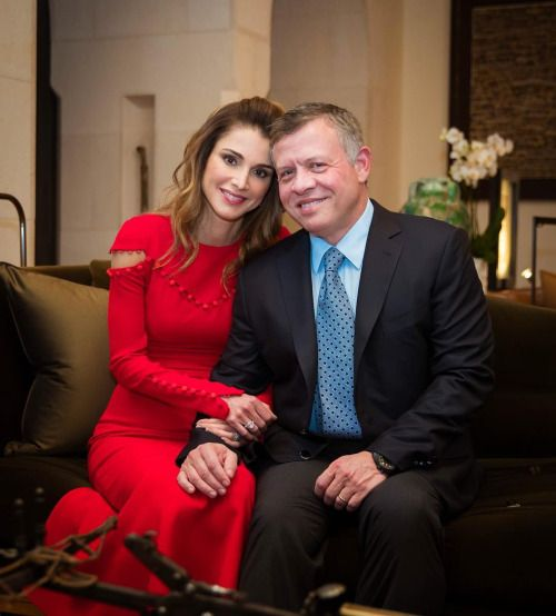 24 October 2016 King Abdullah And Queen Rania At Their