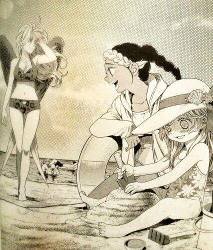 Maximum Ride Manga series - The Flock's Beach Day.