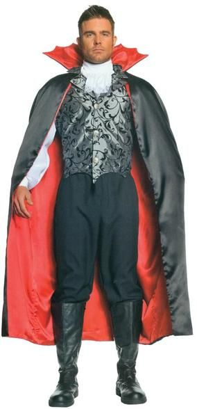 Vampire Cape Adult 55 Inches