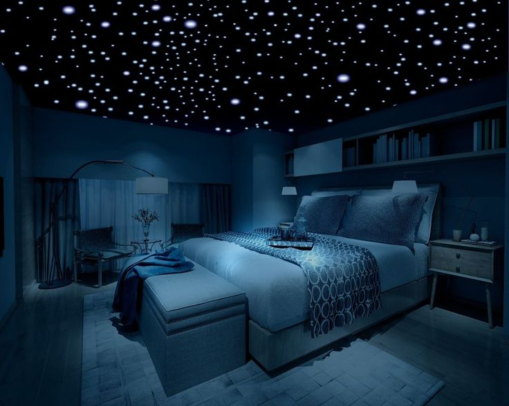 Glow in the Dark Stars, 600 Stars, 3D Self-Adhesive Domed Stars Bedroom Ceiling #Firefly