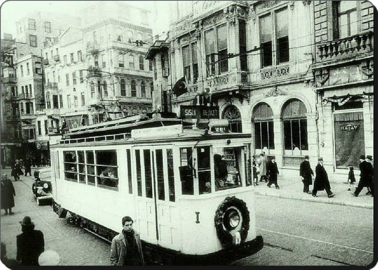 Şişli - Beyazıt Tramvayı (1930lar) #istanbul  #istanlook