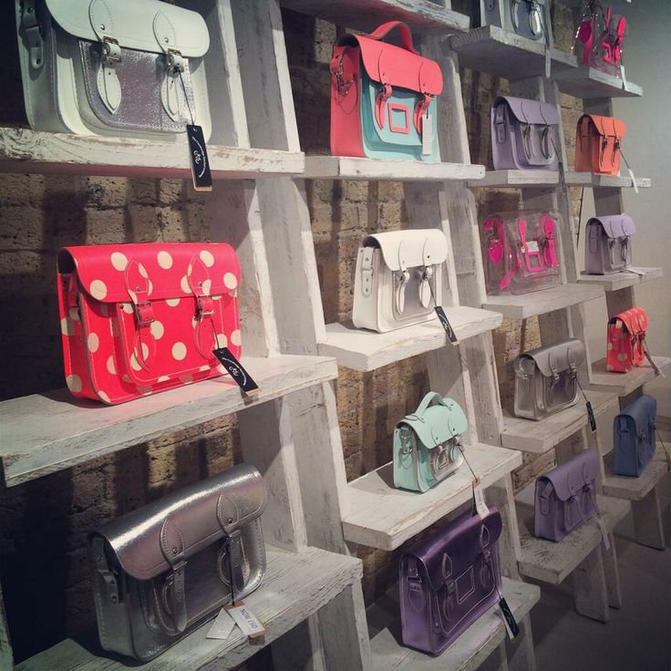 A selection of a few satchels from our Sample Sale in Spitalfields!  www.cambridgesatchel.com/spitalfields-pop-up-store/