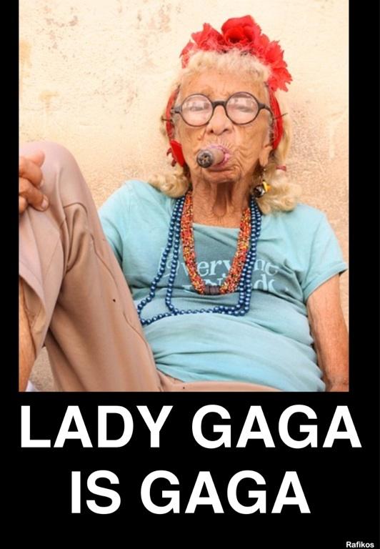 Lady gaga Is gaga
