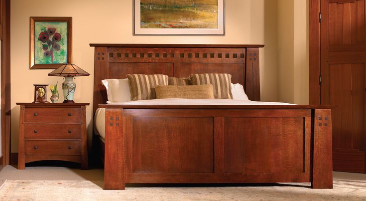 17 best images about beds on pinterest craftsman red for Craftsman bed
