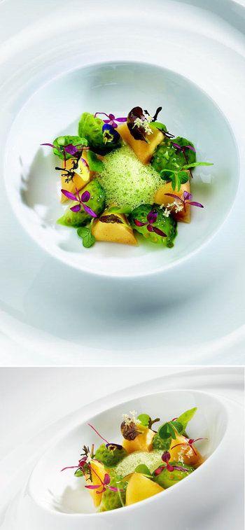 Les berlingots d'Anne-Sophie Pic : Les plats signatures des grands chefs - Linternaute.com Restaurant