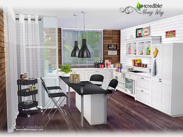 SIMcredible!'s Young Way Kitchen