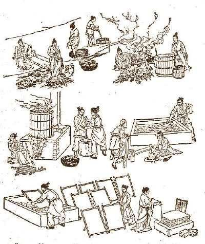 Technology from China- Paper Making | Gretchen Snyder Silk ...