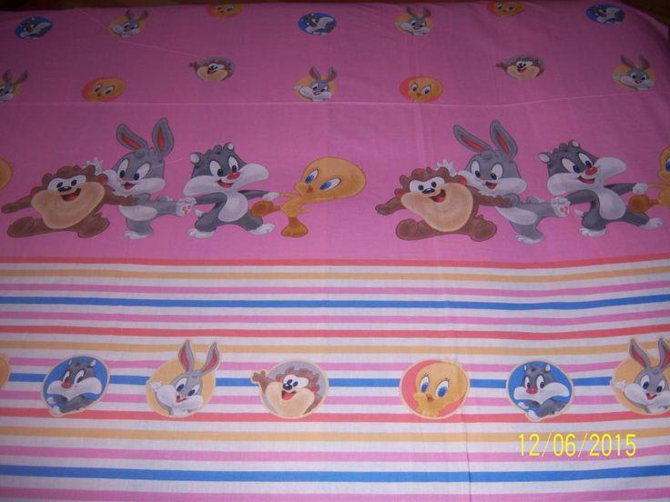 tkanina Disney różowy bawełna płaska na licencji