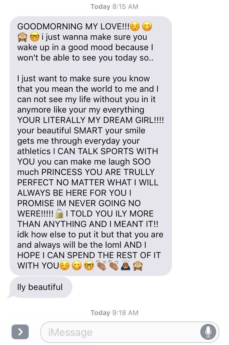 Dating good morning text