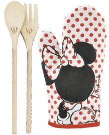 Minnie Mouse Oven Mitt U0026 Cookware