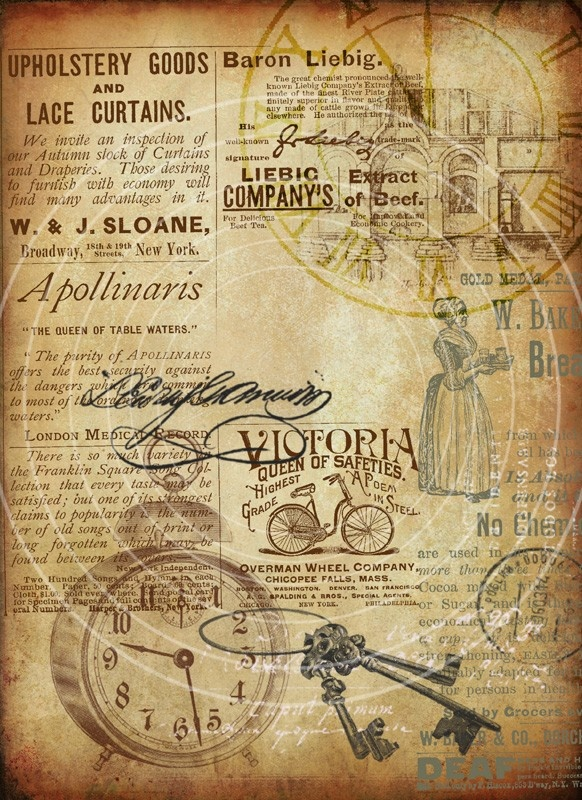 Old Storyboard Two Large Printable Backgrounds by Artmosphera