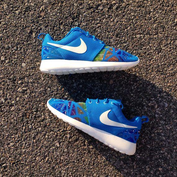 Custom Nike Roshe Run size 9.5