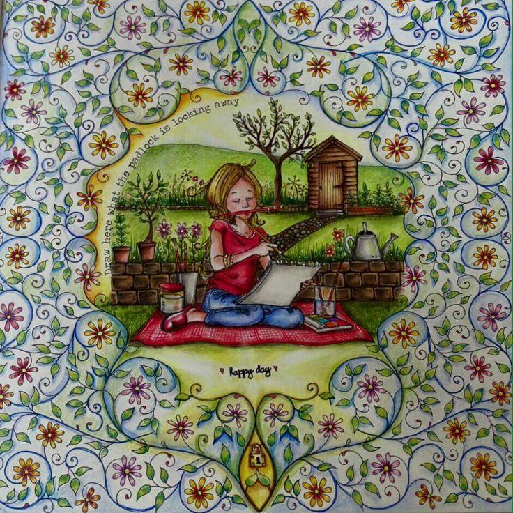 53 Best Mandala Cadeado Jardim Secreto Images On Pinterest