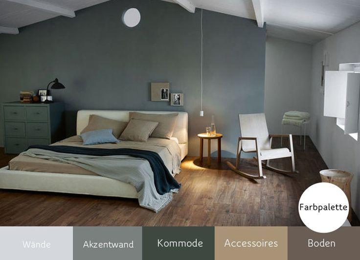 107 best Fußboden   Wand images on Pinterest Paint, Wall paint - wände streichen ideen schlafzimmer