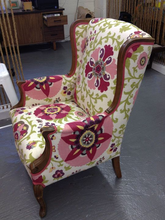 126 Best Images About Wingback Chairs On Pinterest