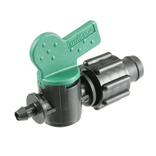 PermaLoc 58 Drip Tape x 14 Barb Tubing Takeoff Adapter Valve 50 pack -- Click image to review more details.