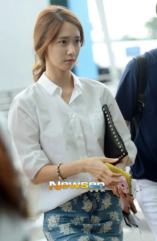 Yoona Fashion Airport Snsd Fashion Style Airport Redcarpet Events Pinterest Yoona