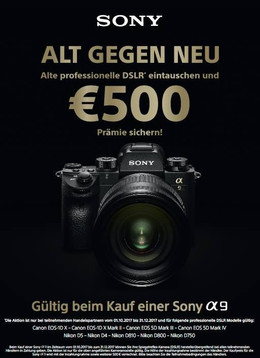 Fabulous New Sony Europe deals Euro trade in for the A photography