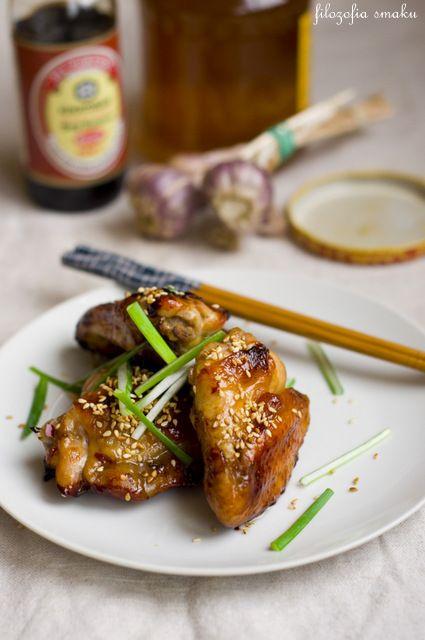 Kurczak w miodzie i sezamie