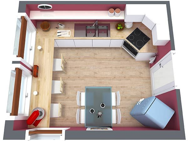 Get Ideas From These Kitchen Floor Plan Small To Large Pans Will Help You Design The Best In Your Next Renovation