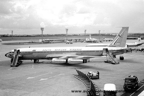 South African Airways Boeing 707-344B ZS-CKE (1967)