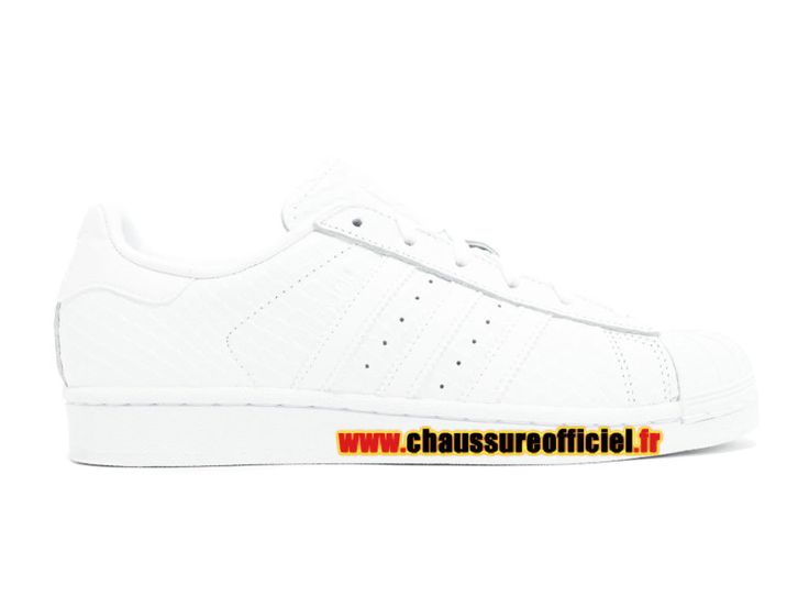 Adidas Superstar W Chaussures Adidas Pas Cher Pour Homme Blanc s76148