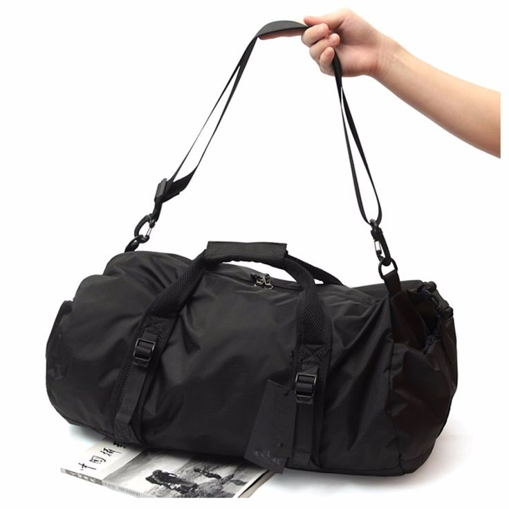 Foldable Lightweight Sports Bag Travel Gear Waterproof Large Space Hand Duffel Gym Men For Fitness