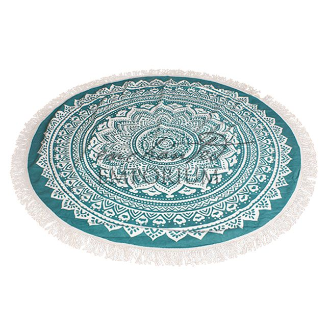 Art Series Rug Tibetan - Jade Hire, set of 2, Enchanted Emporium Event Hire