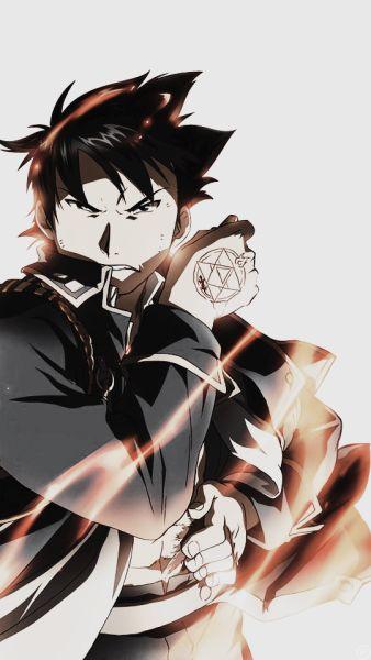 Fullmetal alchemist - Mustang