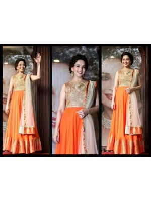 MADHURI DIXIT IN LONG FLOOR LENGTH ANARKALI Check our New Bollywood collection, http://20offers.com/index.php?route=product/product&product_id=3151&search=madhuri#.Uz0AR6iSzxA , Available for shipping worldwide,  Buy Bollywood Sarees at lowest price in USA, CANADA, AUSTRALIA, NEW ZEALAND, SINGAPORE, MALYASIA ,UK, NETHERLANDS, FRANCE, JERMANY - Indian Clothing Online!