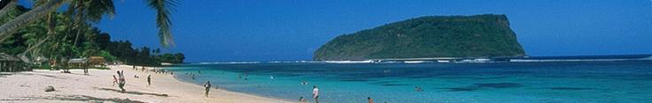 Lalomanu Beach, Samoa.