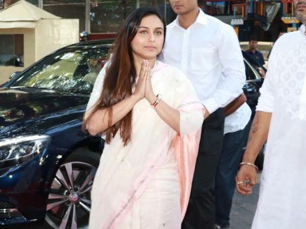 PICS: Bachchans Kareena Kapoor Khan Ranveer Singh and other Bollywood celebs attend Rani Mukerji's father Ram Mukerji's prayer meet
