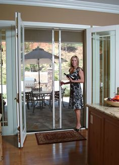 offering sales and of clear view retractable screen doors which utilize the technology of rollup blinds