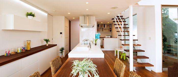 施工実例case25 | 神奈川での注文住宅は山下建設 イメージをカタチにする技術力で思いっきりMY STYLEの家を提案