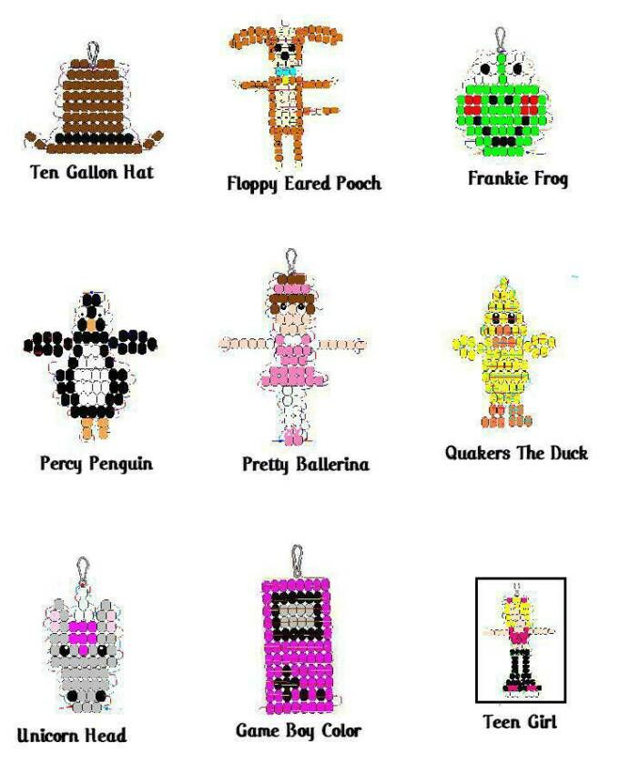 Plastic Canvas Bear Free Patterens | Many Patterns » BEAD BUDDY PATTERNS