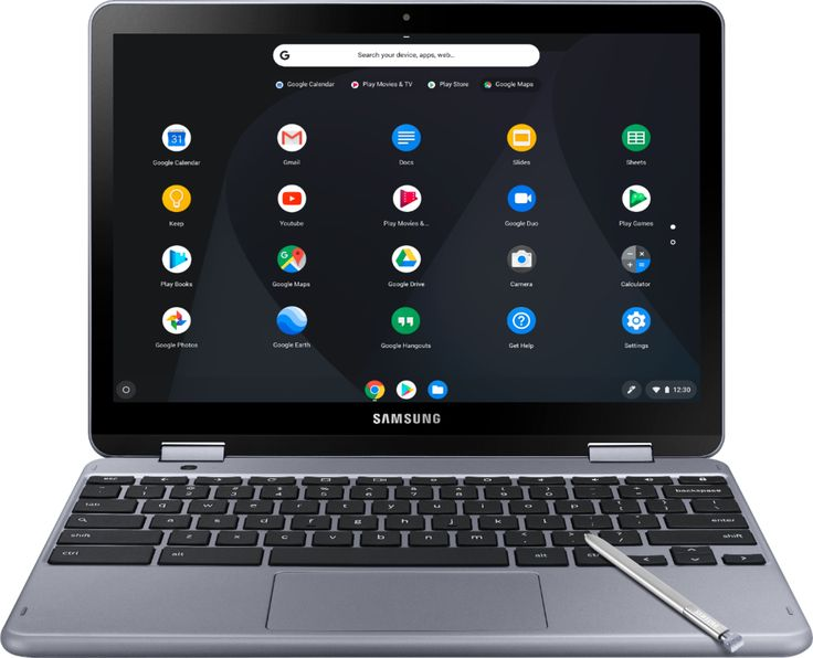 "Shop Samsung Plus 2in1 12.2"" TouchScreen Chromebook"