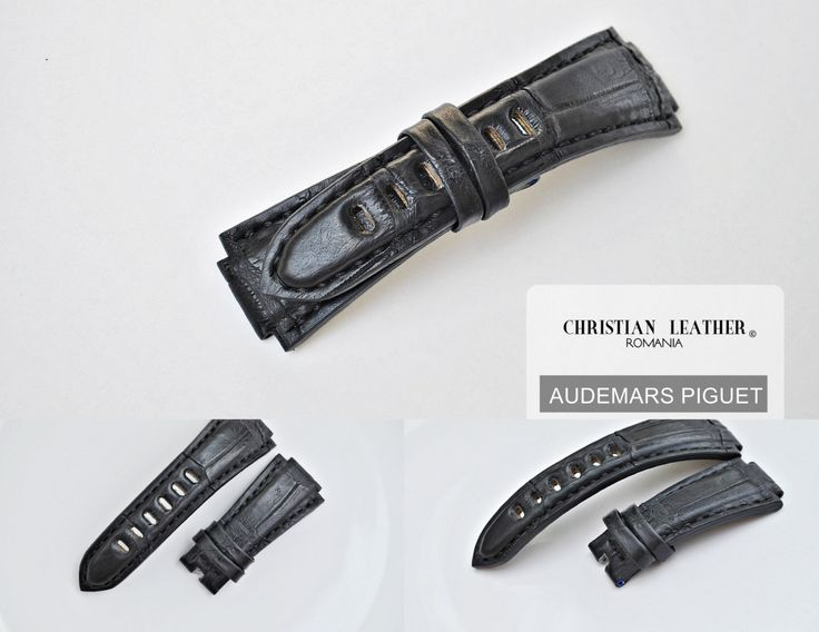 Audemars Piguet Handmade Alligator Leather Watch Strap - Available on Order- Many Colours and For More Watch Models by ChristianStraps on Etsy