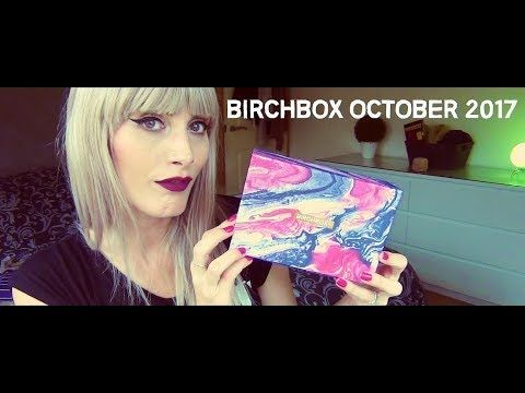 MichelaIsMyName: Birchbox October 2017 | MICHELA ismyname ❤️