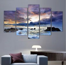 HD Canvas Print home decor wall art painting Beautiful Picture 5p(no framed)#045
