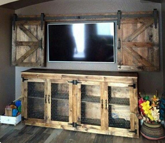 Hey, I found this really awesome Etsy listing at https://www.etsy.com/listing/467190232/rustic-barn-wood-entertainment-center
